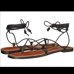 Lucky brand binnie lace up sandals